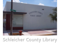 Schleicher<br />County<br />Library